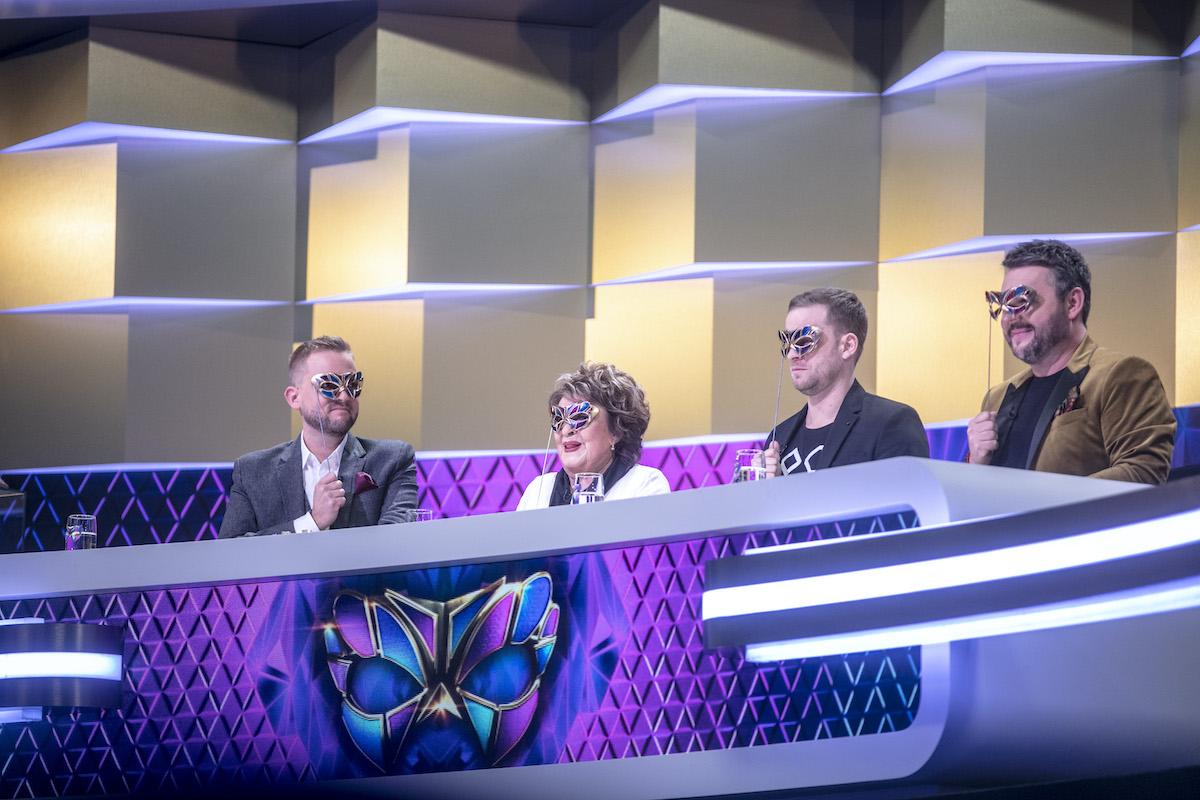 Z natáčení show Zlatá maska