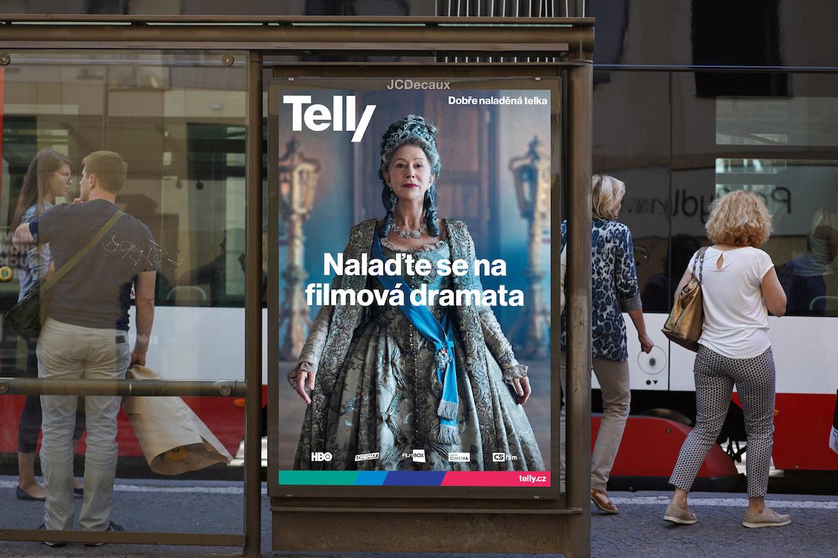 Nová vizuální identita Telly