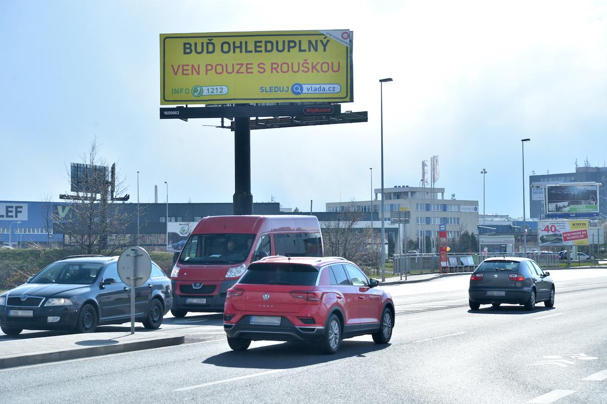 Osvětová kampaň na venkovních plochách BigBoardu