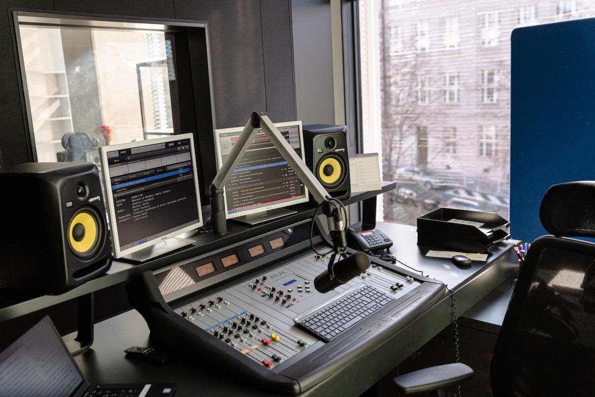 Nové studio rádia Classic Praha