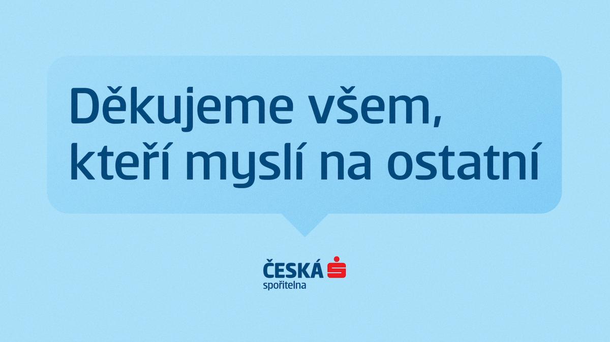 Tak začíná spot České spořitelny