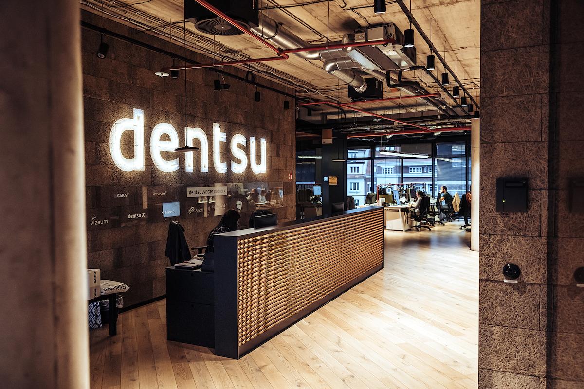 Kanceláře Dentsu Aegis v pražských Holešovicích