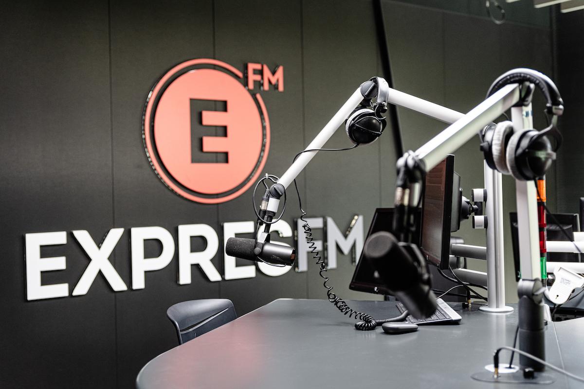 Nové studio rádia Expres FM