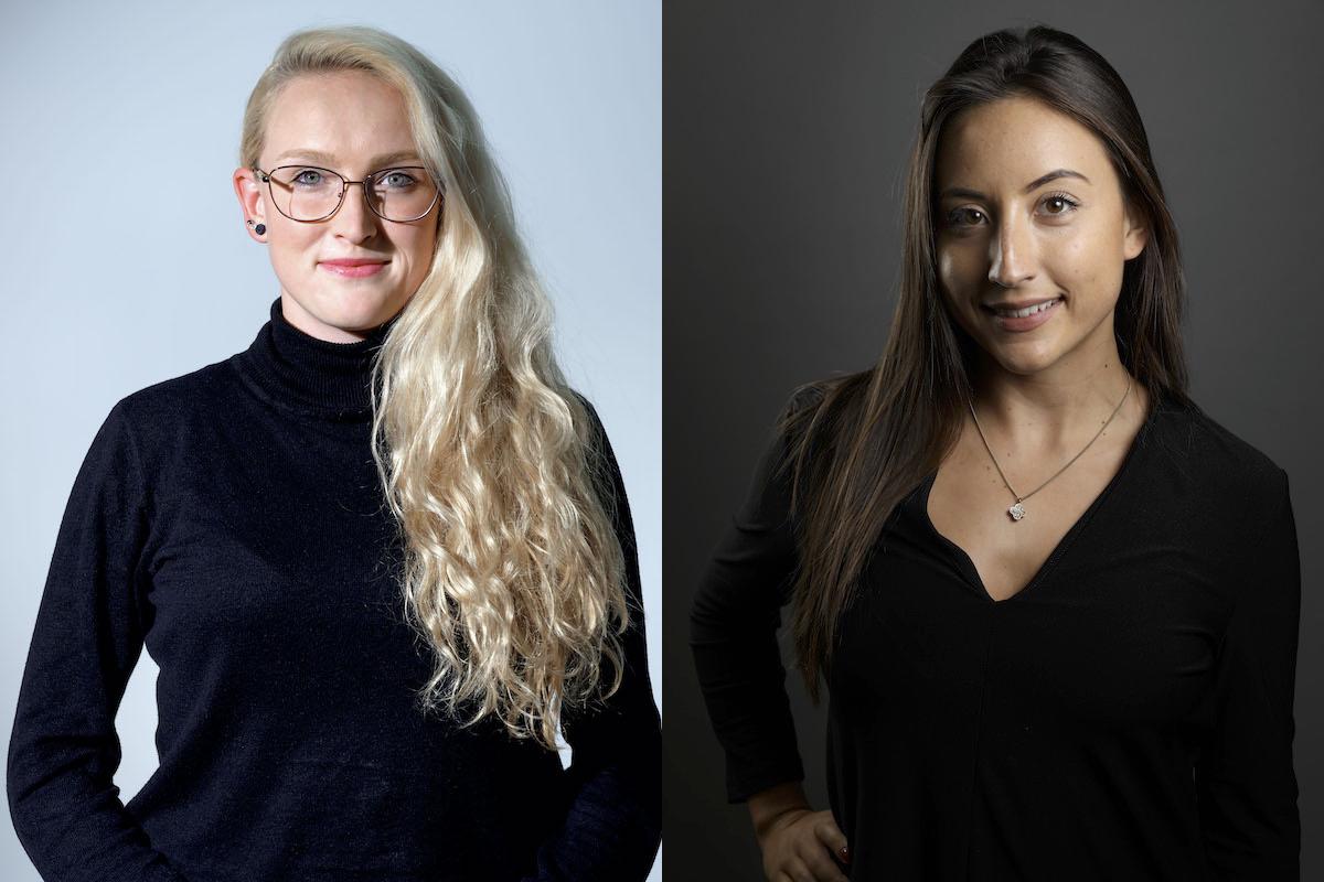 Kim Hofmanová a Natália Starinská z Ogilvy, vítězky kategorie Media letošních Young Lions