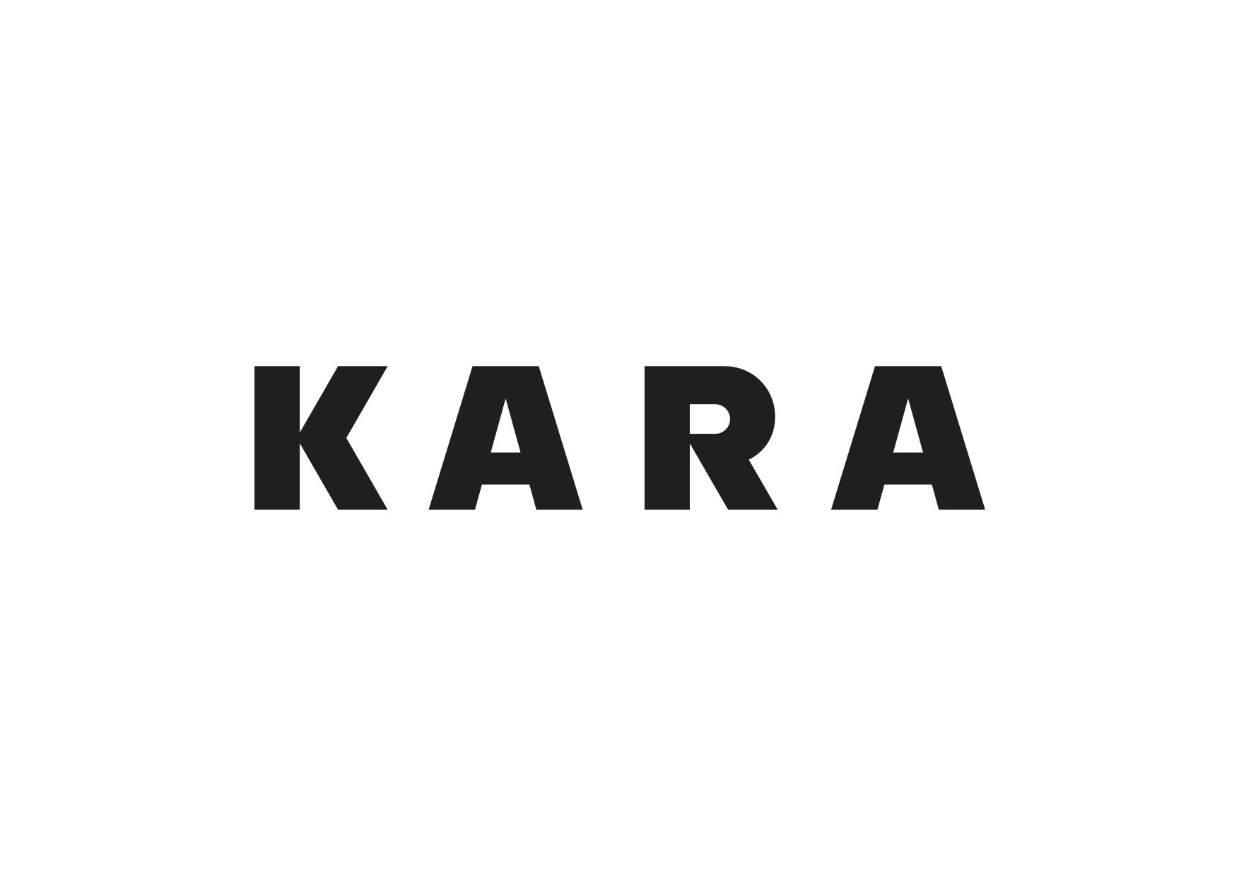 Nové logo značky Kara od Studia Najbrt