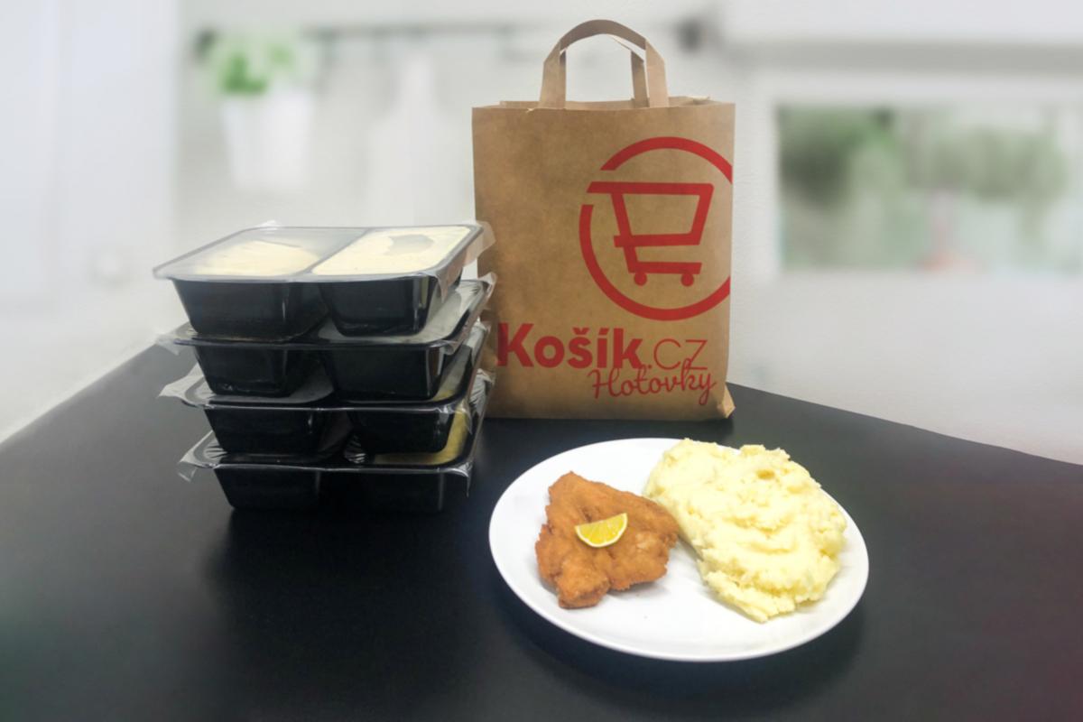 Košík.cz začal rozvážet hotová jídla