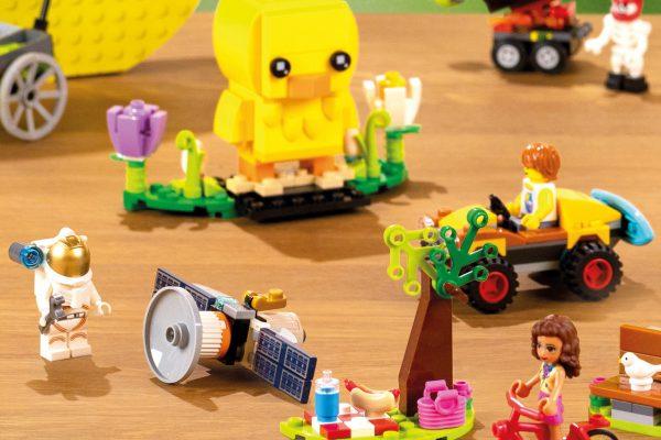 Albert v kampani nabízí čističe Kärcher a Vejcouny ve stavebnicích Lego