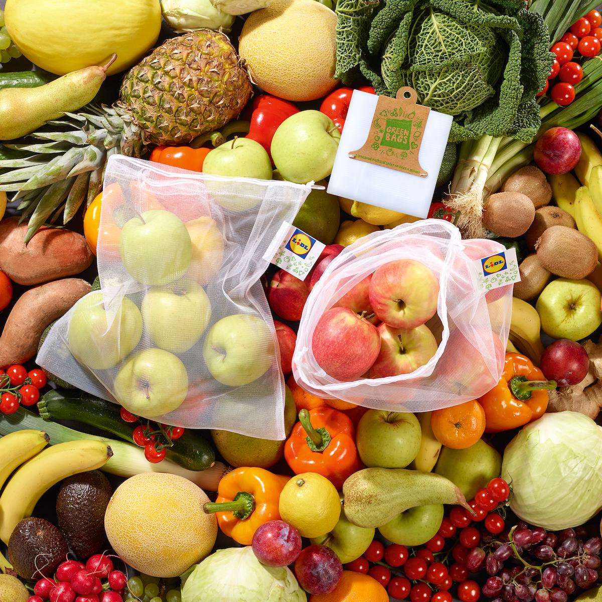 Sáčky na ovoce k opakovanému použití