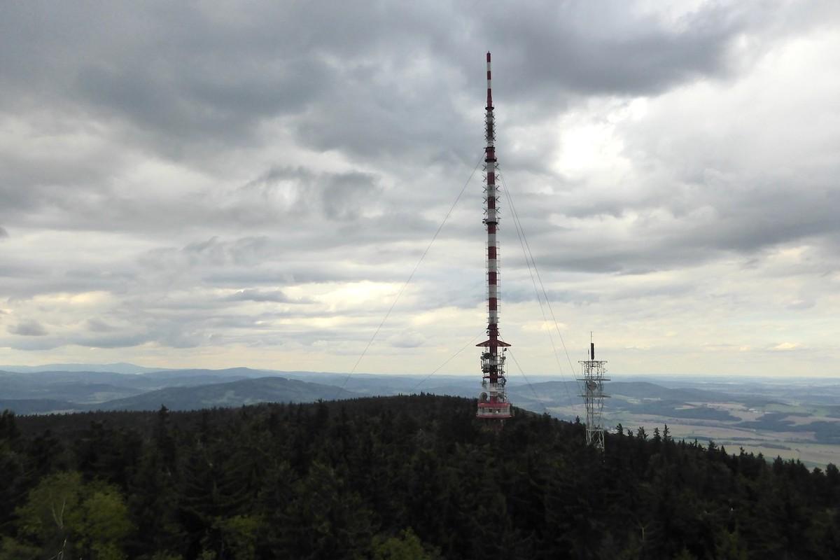 Vysílač na Kleti. Foto: Profimedia.cz