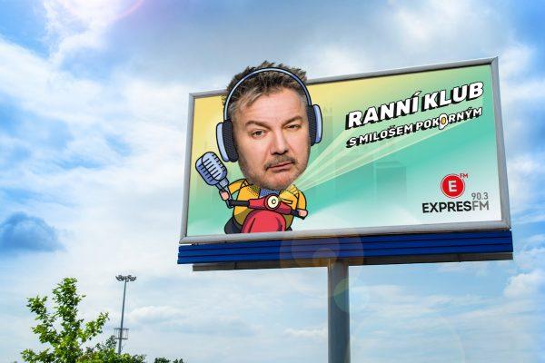 Rádio Expres FM spouští Ranní klub s Pokorným