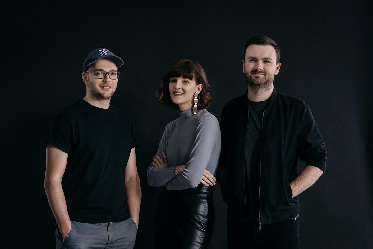 Zleva Jen Zápotocký, spoluzakladatel Scale, Martina Bechyňová, copywriter & idea maker, Martin Štěpanovský, spoluzakladatel Scale