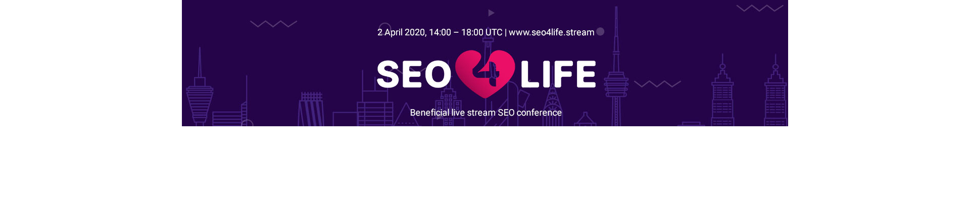 Beneficial live stream SEO conference