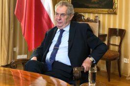 Prezident Zeman promluví, výhradně pro Primu