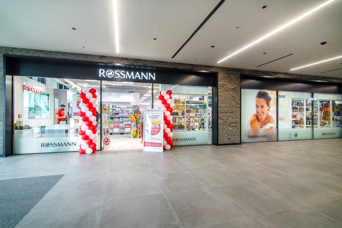 Nový Rossmann v nové pasáži