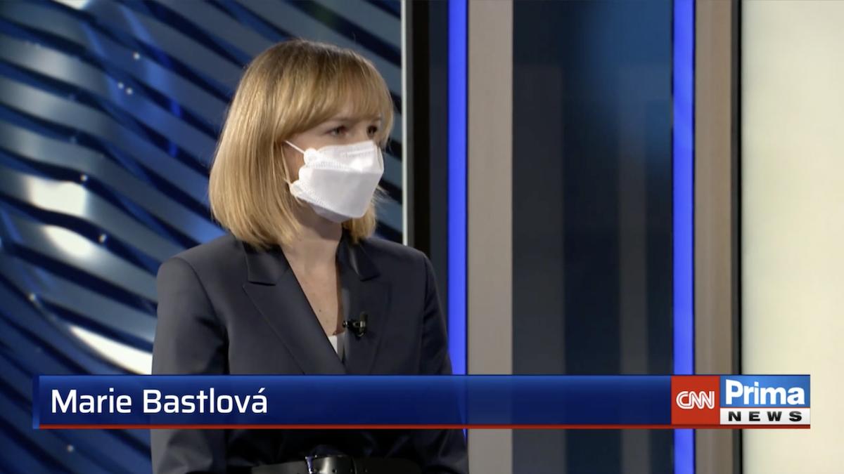 Marie Bastlová přišla z Českého rozhlasu