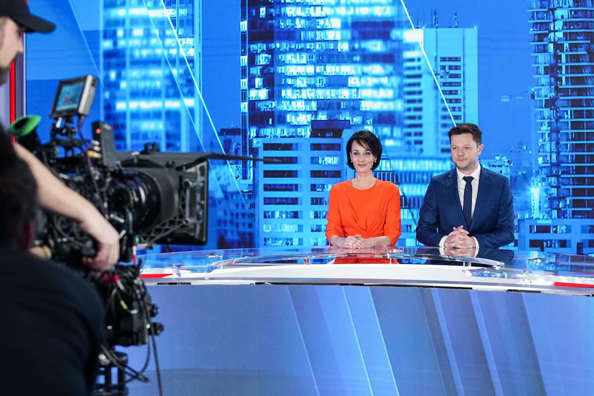 Markéta Dobiášová a Pavel Štrunc jako nová moderátorská dvojice večerních Hlavních zpráv