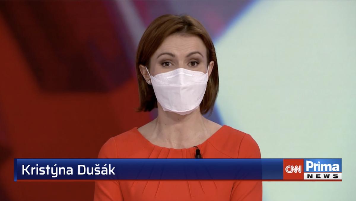 Zprávařka Kristýna Dušák