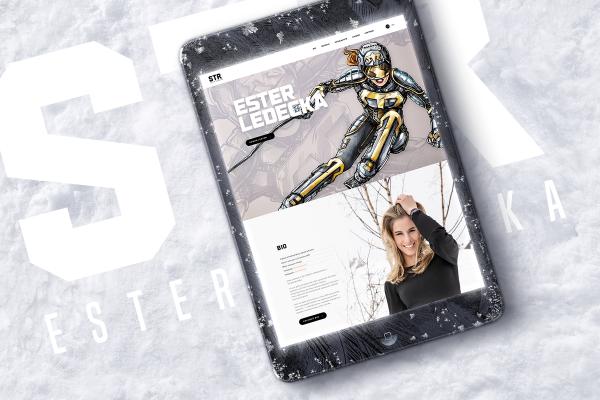 Beneš & Michl dělají weby olympioniků, první má Ledecká