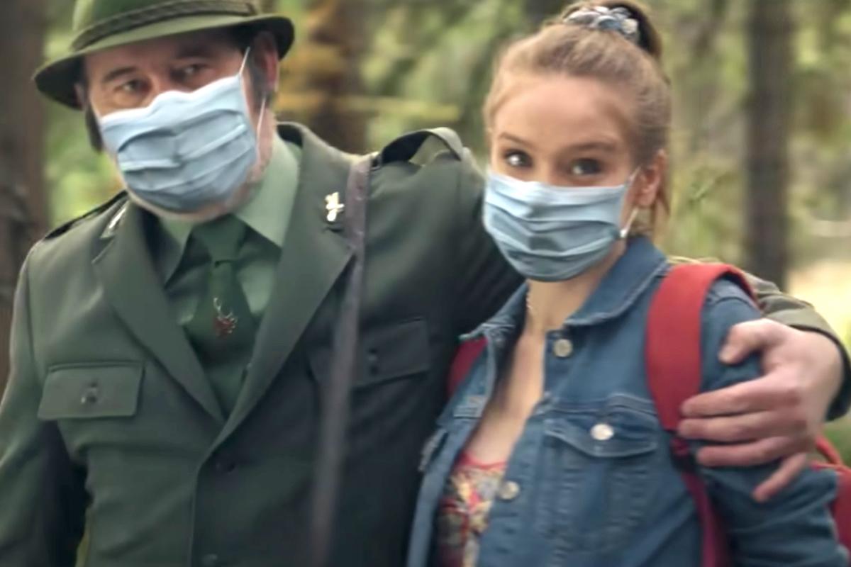 Ctirad Götz a Anna Kadeřávková v digitálně upraveném spotu Kofoly