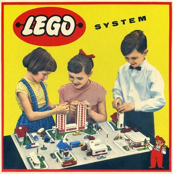 Stará reklama na Lego
