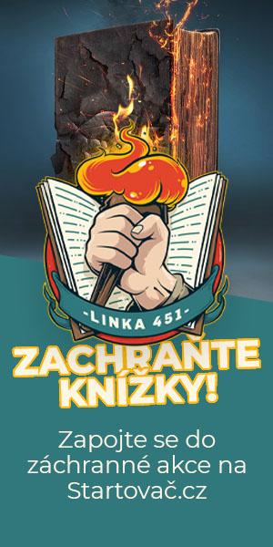 Linka 451 - Zachraňte knížky!