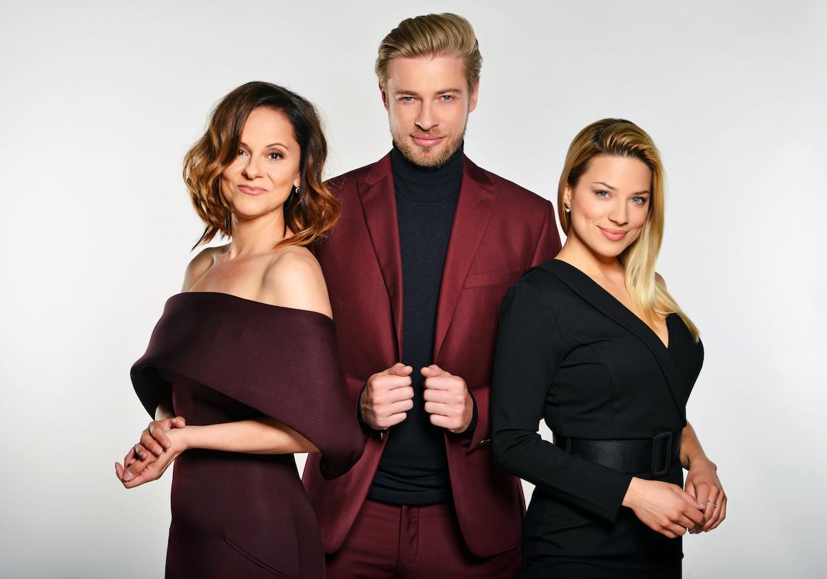 Moderátoři Showtime (zleva) Laďka Něrgešová, Petr Větrovský a Eva Perkausová