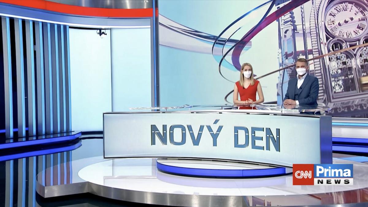 Nový den otevře den v šest na CNN Prima News, od 7.00 bude i na hlavní Primě