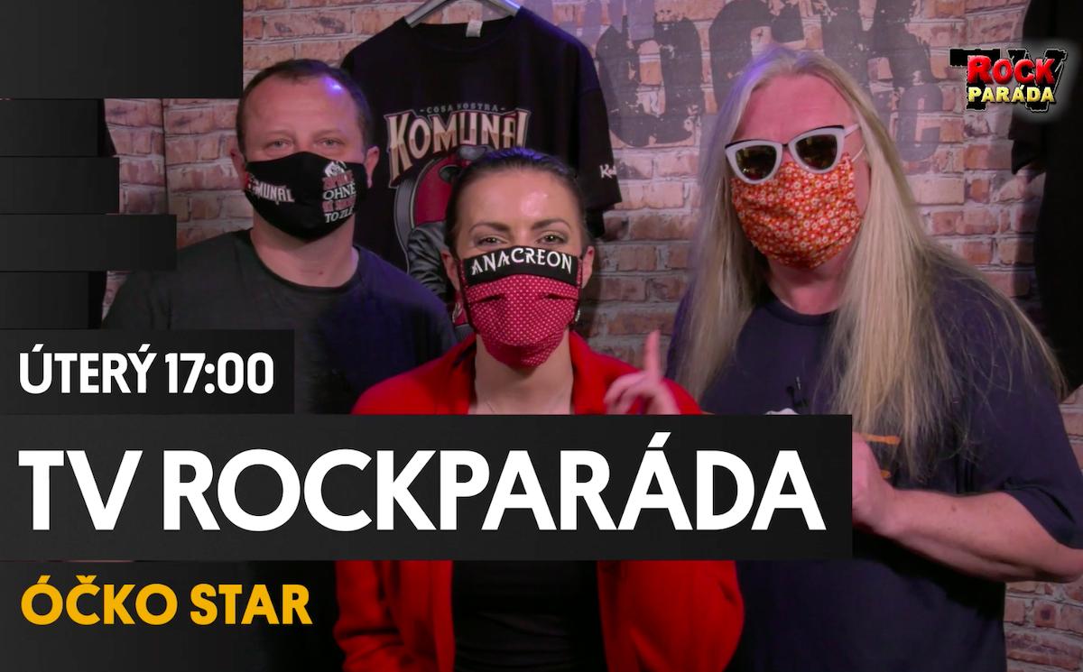 Televizní Rockparádu chystá Óčko společně s rádiem Fajn Rock