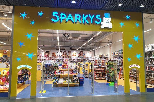 Sparkys přesouvá svůj dům hraček přímo na Václavské náměstí