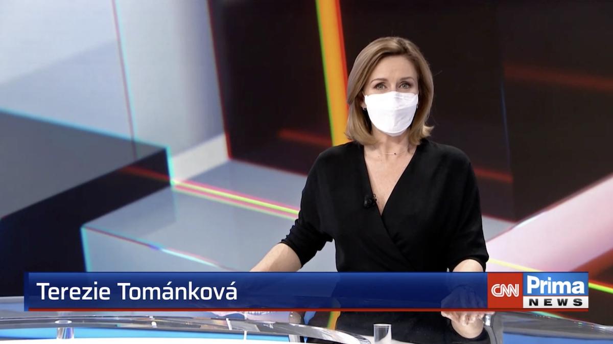 Terezie Tománková bude dál uvádět nedělní Partii