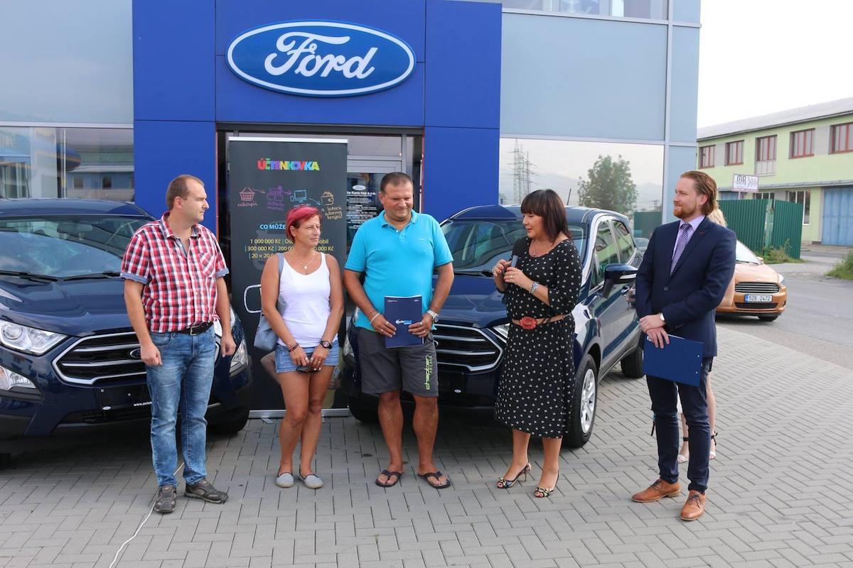 V loterii Účtenkovka bylo možné vyhrát i automobil
