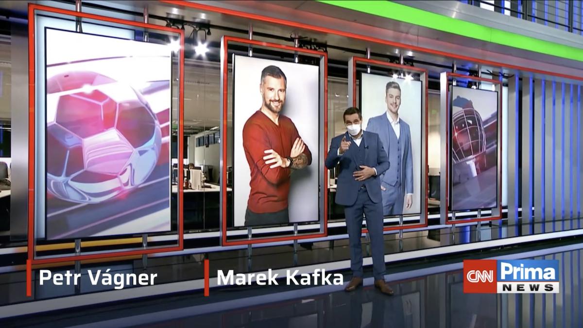 Roman Šebrle představuje sportovní reportéry