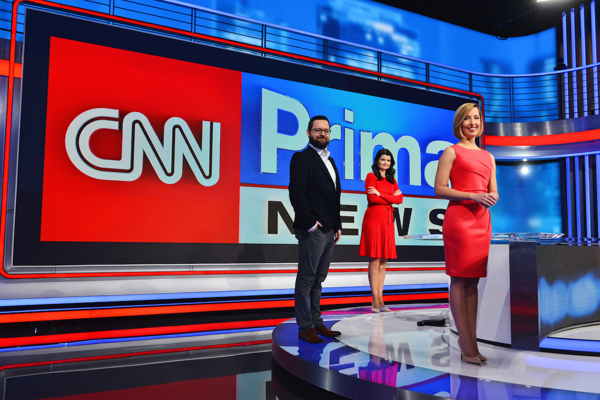 CNN Prima News řídí tříčlenná Redakční rada, tvoří ji (zleva) Tomáš Večeřa, Petra Benešová a Eliška Čeřovská