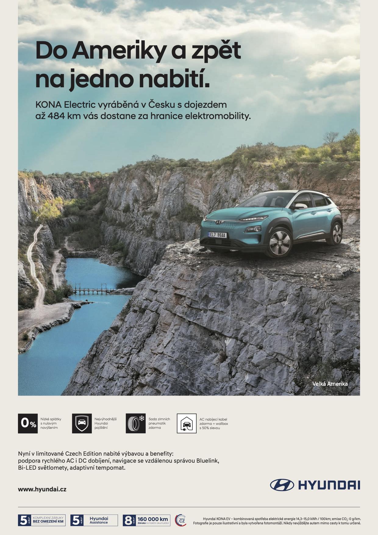 Hyundai Kona: Na jedno nabití (VCCP Prague)