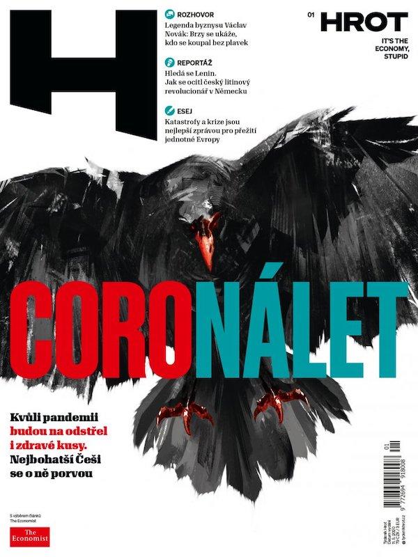 Titulní strana 1. čísla týdeníku Hrot