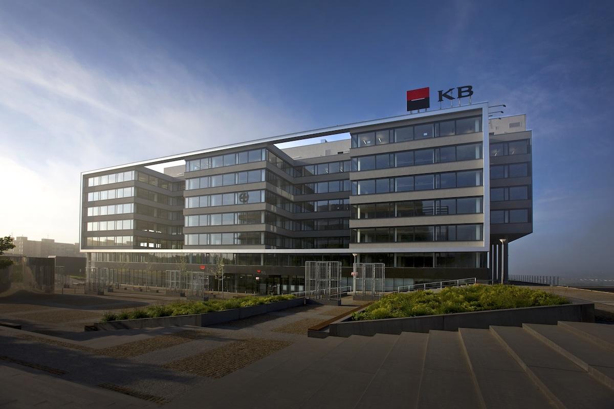 Ústředí Komerční banky na pražských Stodůlkách