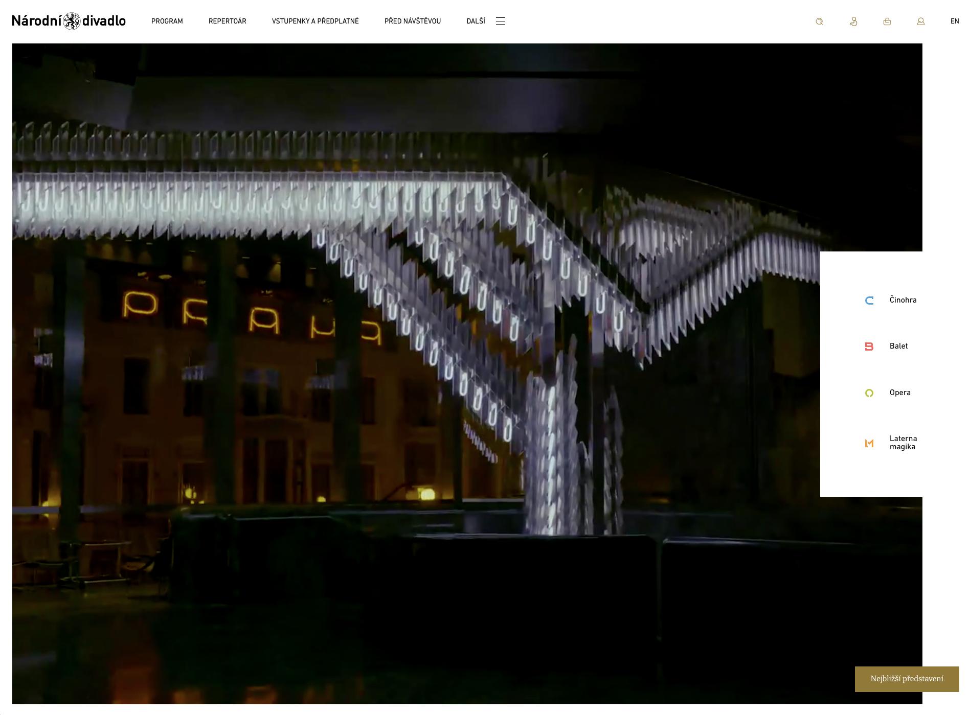 Nový web Národního divadla běží na headless CMS