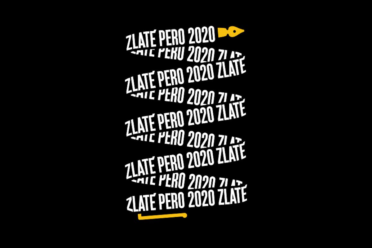 Vizuál Zlatého pera 2020 je dílem Lumíra Kajnara