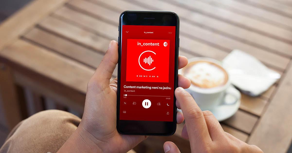 In_Content lze poslouchat přes Spotify, Apple Podcasty, Google Podcasty nebo Overcast