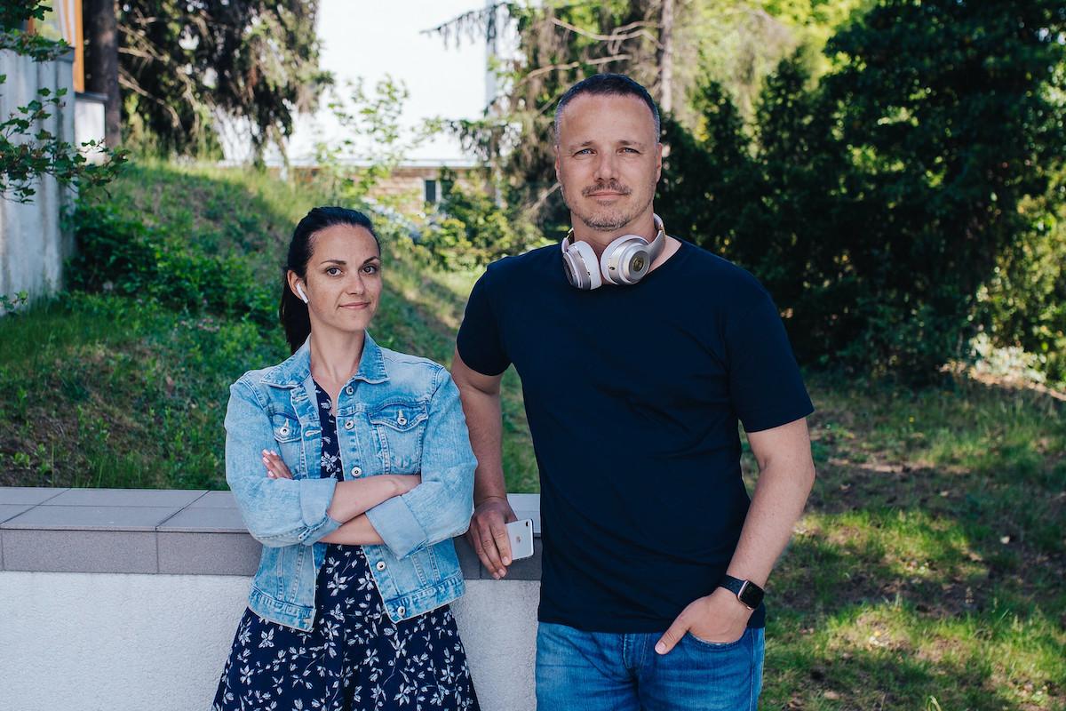 Michaela Raková a Martin Vymětal z Boomerangu