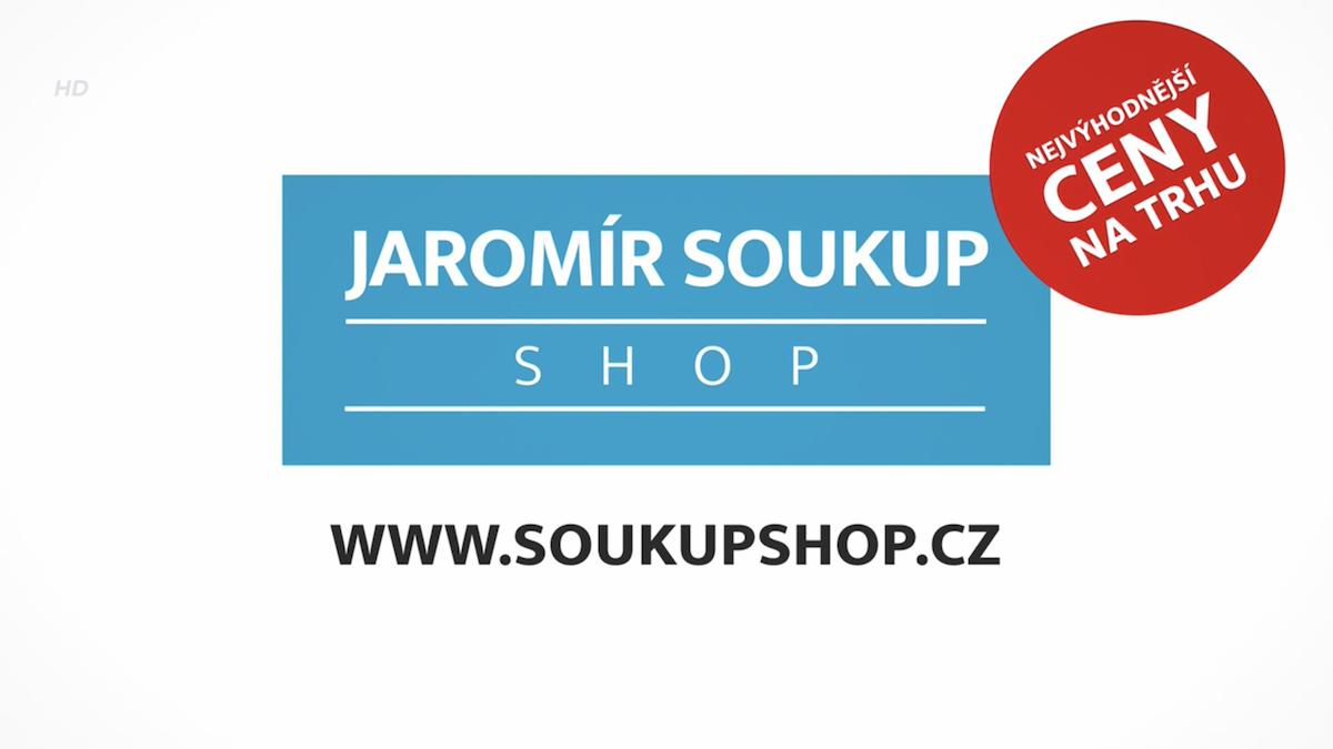 Ze sponzorského vzkazu e-shopu Jaromíra Soukupa