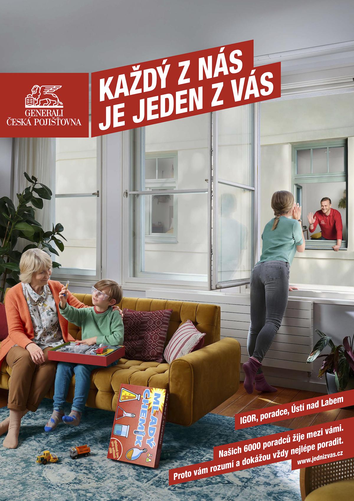 Generali Česká pojišťovna: Každý z nás je jeden z vás (Isobar)