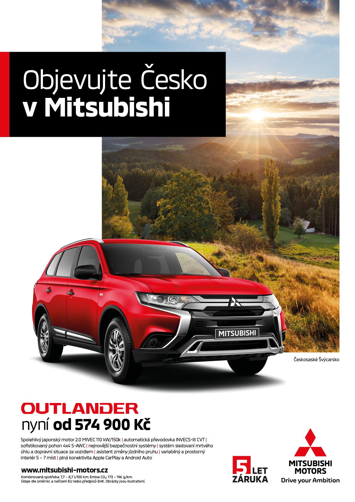 Mitsubishi: Objevujte Česko vMitsubishi (Scholz & Friends)
