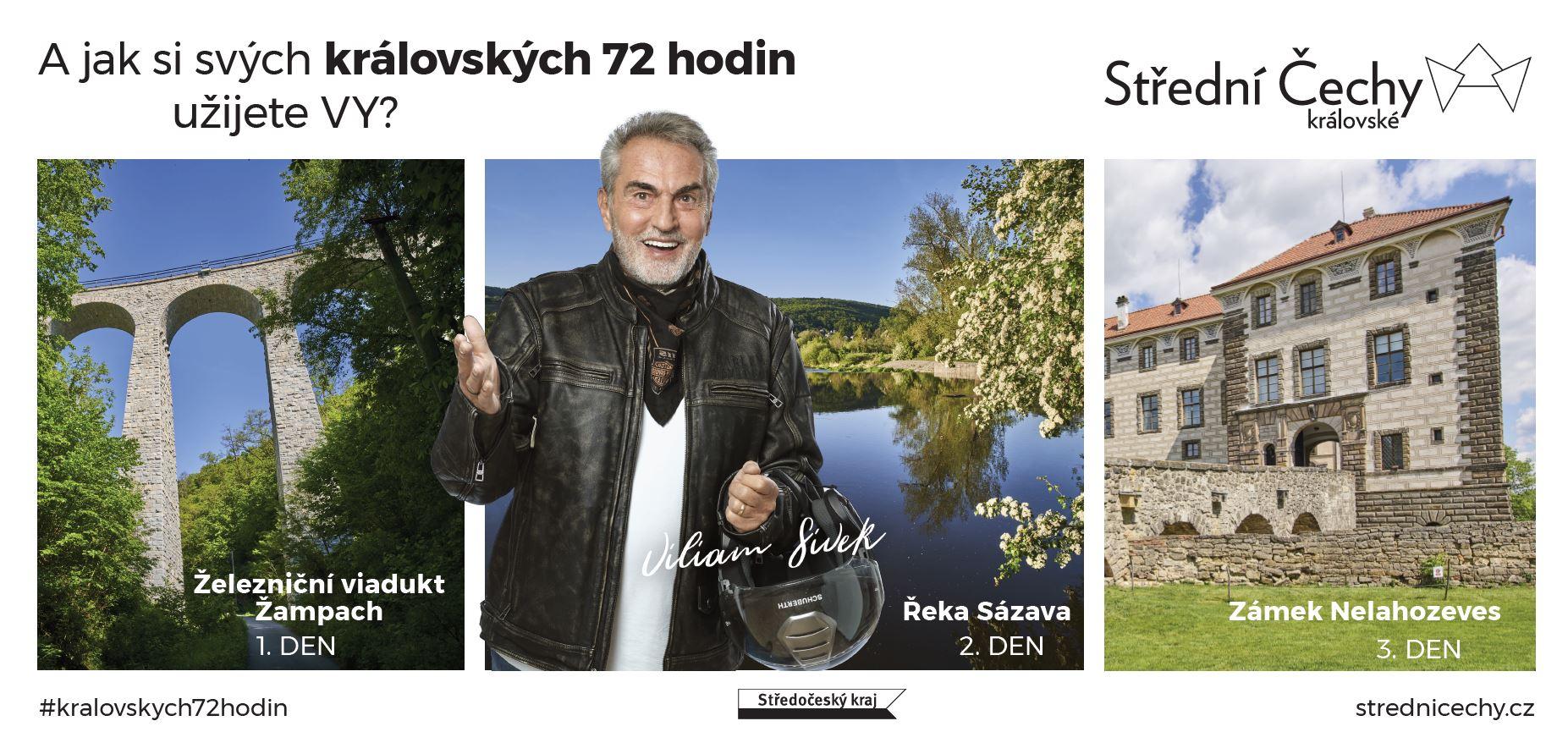 Viliam Sivek v kampani Střední Čechy královské