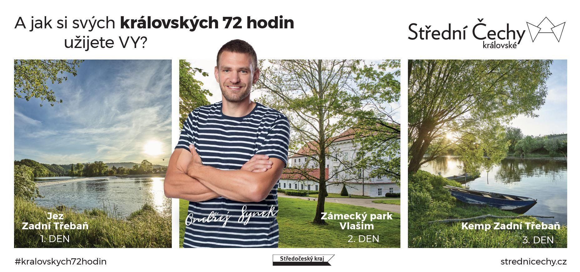Ondřej Synek v kampani Střední Čechy královské