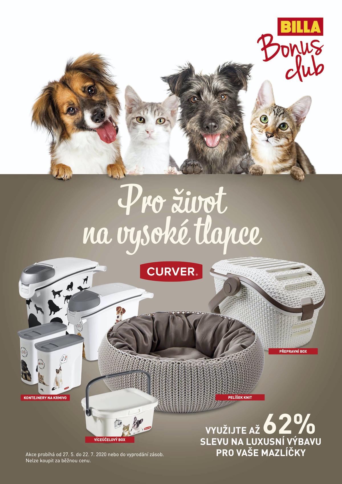 Věrnostní kampaň Billy s produkty Curver