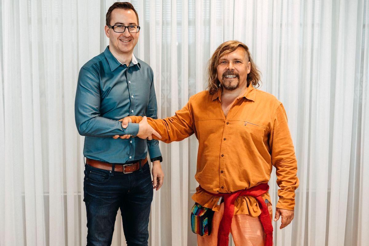 Martin Hájek s Petrem Vachlerem