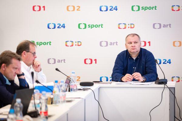 Předsedou Rady ČT zvolen Kühn, jediný kandidát