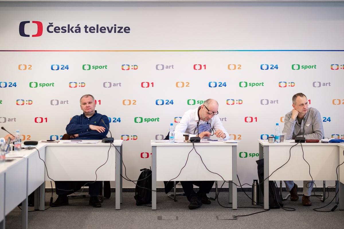 Zleva René Kühn, Jaroslav Dědič, Tomáš Samek. Foto: Vojta Herout