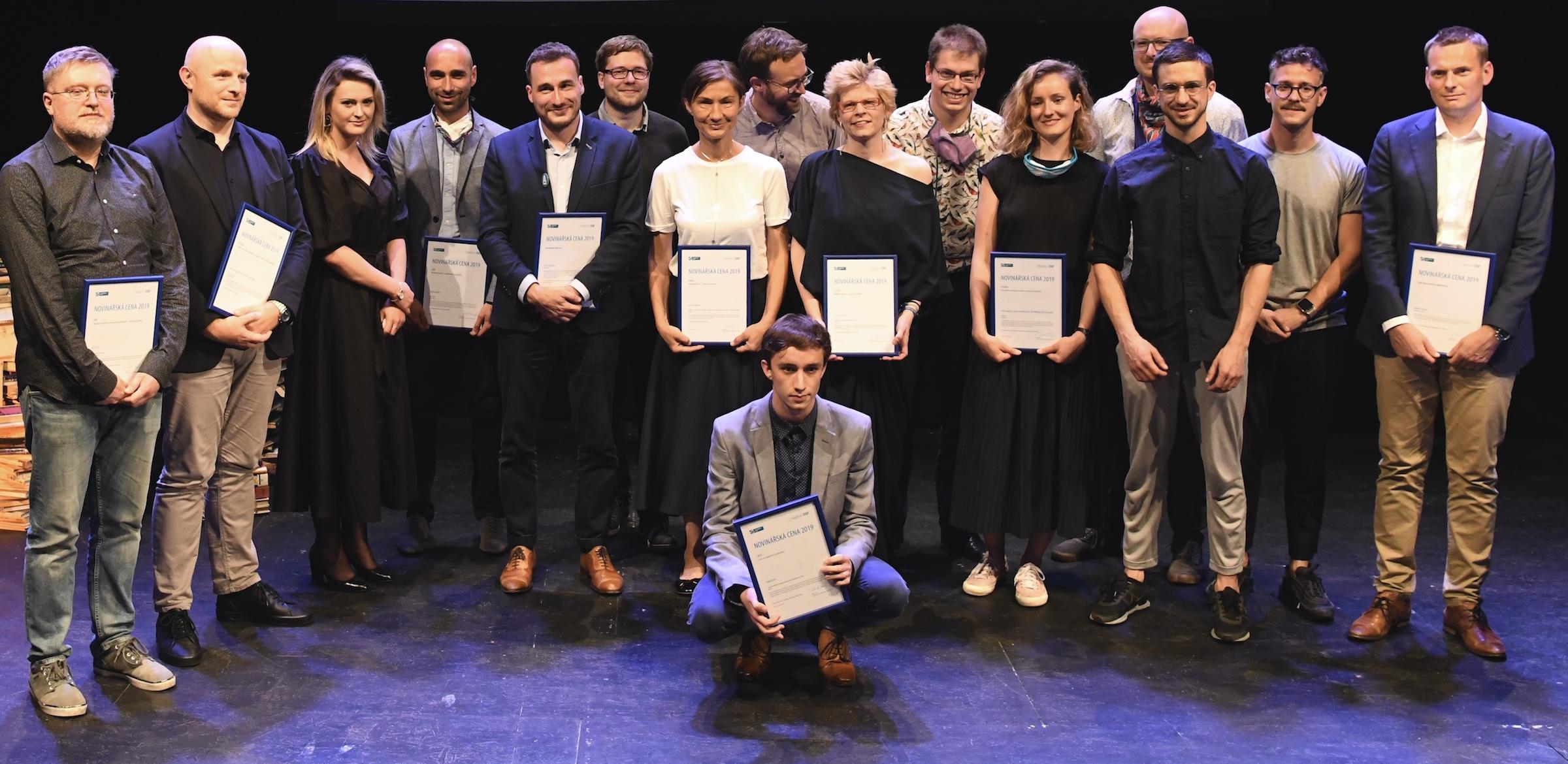 Držitelé Novinářské ceny 2019